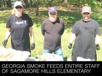 Georgia Smoke Feeds Entire Staff of Sagamore Hills Elementary
