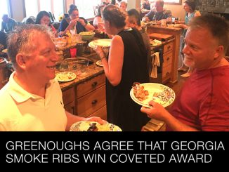 Greenoughs Agree that Georgia Smoke Wins Coveted Pork Rib Award