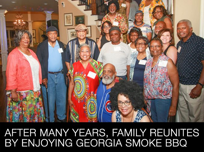 After Many Years, Family Reunites by Enjoying Georgia Smoke BBQ