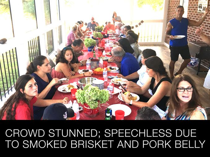 Georgia Smoke BBQ Caters an After-Wedding and Brisket Party