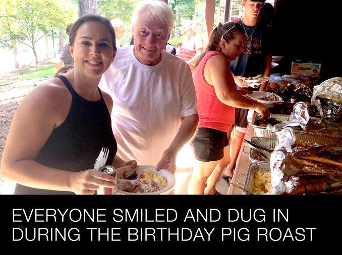 Birthday Pig Roast