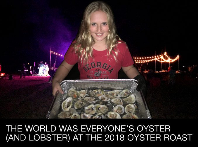 The world was everyone's oyster (and lobster) at the 2018 Oyster Roast.
