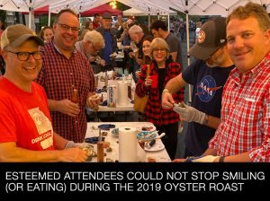 Oyster Roast Attendees