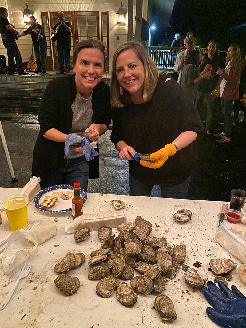 Georgia Smoke Oyster Roast