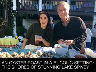 An Oyster Roast Held in a Bucolic Setting at Lake Spivey